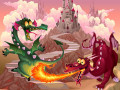 Giochi Fairy Tale Dragons Memory